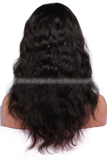 Natural Wave Brazilian Virgin Hair Glueless Full Lace Wigs