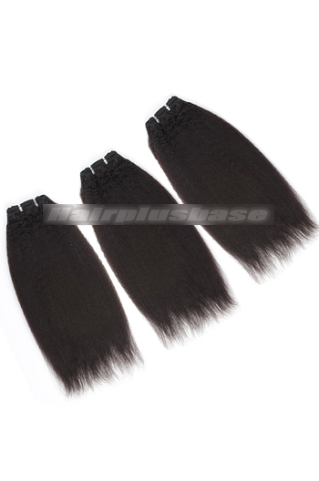 10-24 Inch Luxury Italian Yaki 8A Virgin Hair Weave 3 Bundles Deal