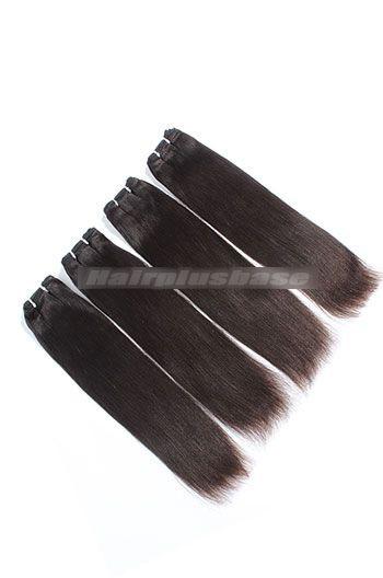 10-24 Inch Light Yaki Brazilian Virgin Hair Weave 4 Bundles Deal