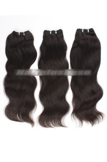 10-24 Inch Luxury Natural Straight 8A Virgin Hair Weave 3 Bundles Deal
