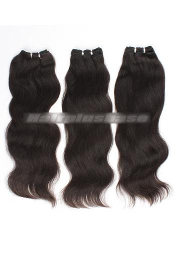 10-24 Inch Luxury Natural Straight Brazilian Virgin Hair Weave 3 Bundles Deal