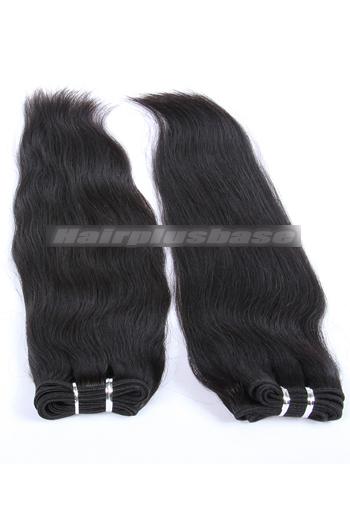 10-24 Inch Luxury Silky Straight Brazilian Virgin Hair Weave 2 Bundles Deal