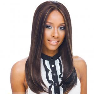 Classic Long Sepia Lace Front High Heated Wigs for Black Women