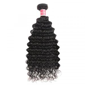 Deep Wave Hair 1 Piece Cheap Hair Bundles 8-32inch Deep Wave Weave