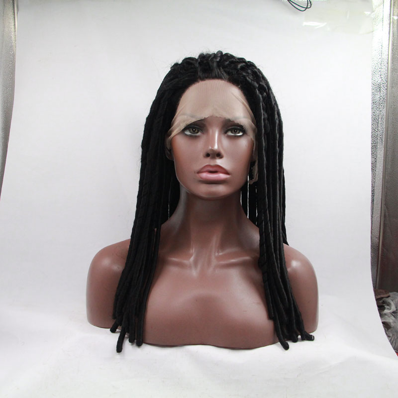 Fashion Long Afro Curly Lace Front Wigs For African American