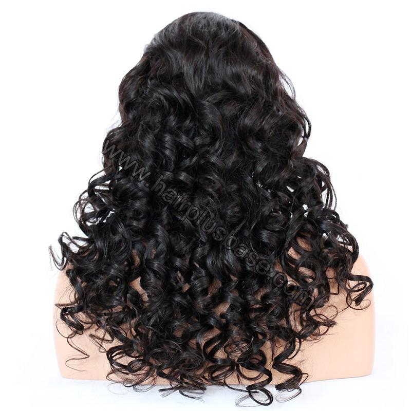 Full Lace Wigs Indian Remy Hair Loose Deep 7