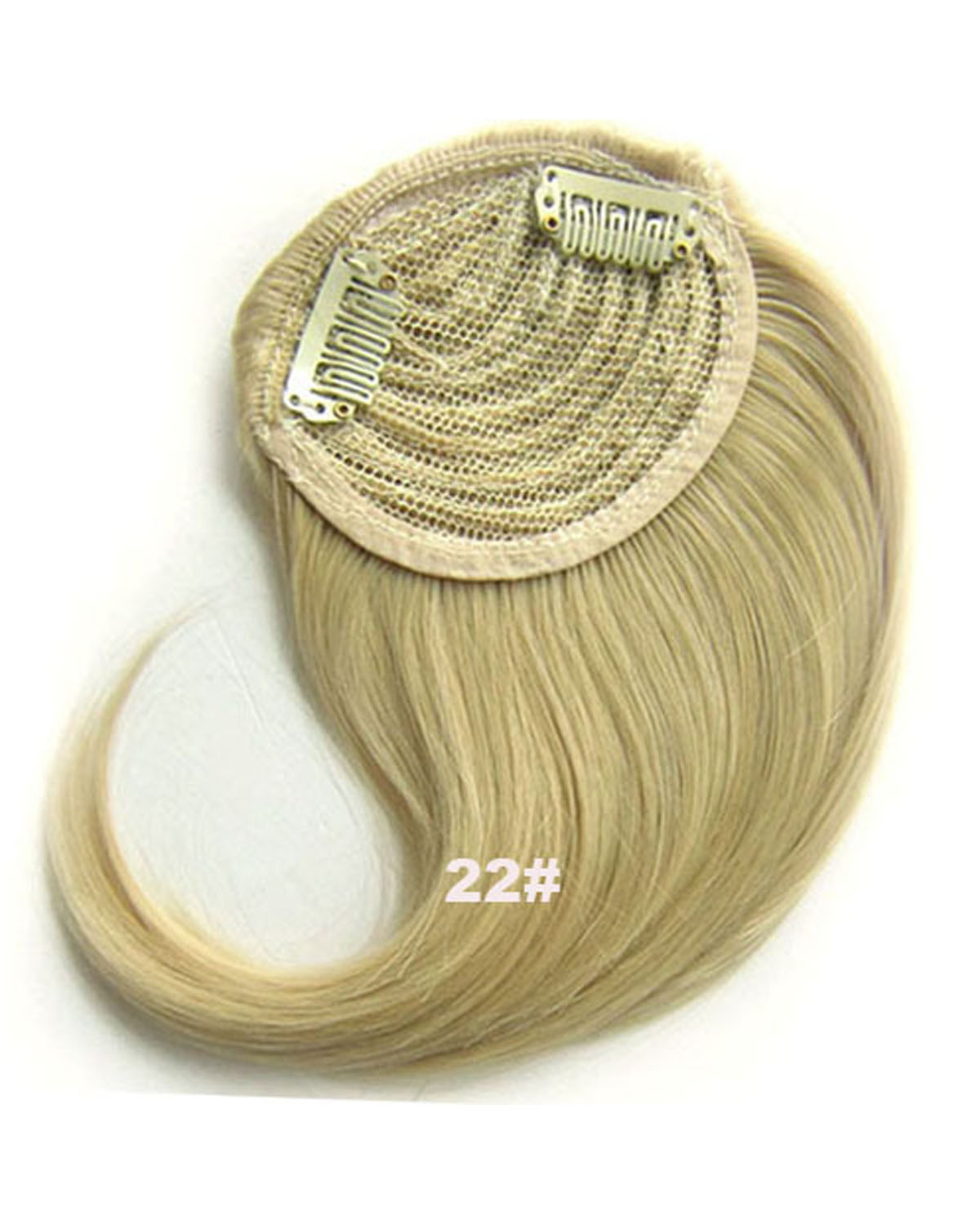 Girls Attractive Straight Short Bangs Clip in Synthetic Hair Extension Fringe Bangs Hairpiece22#