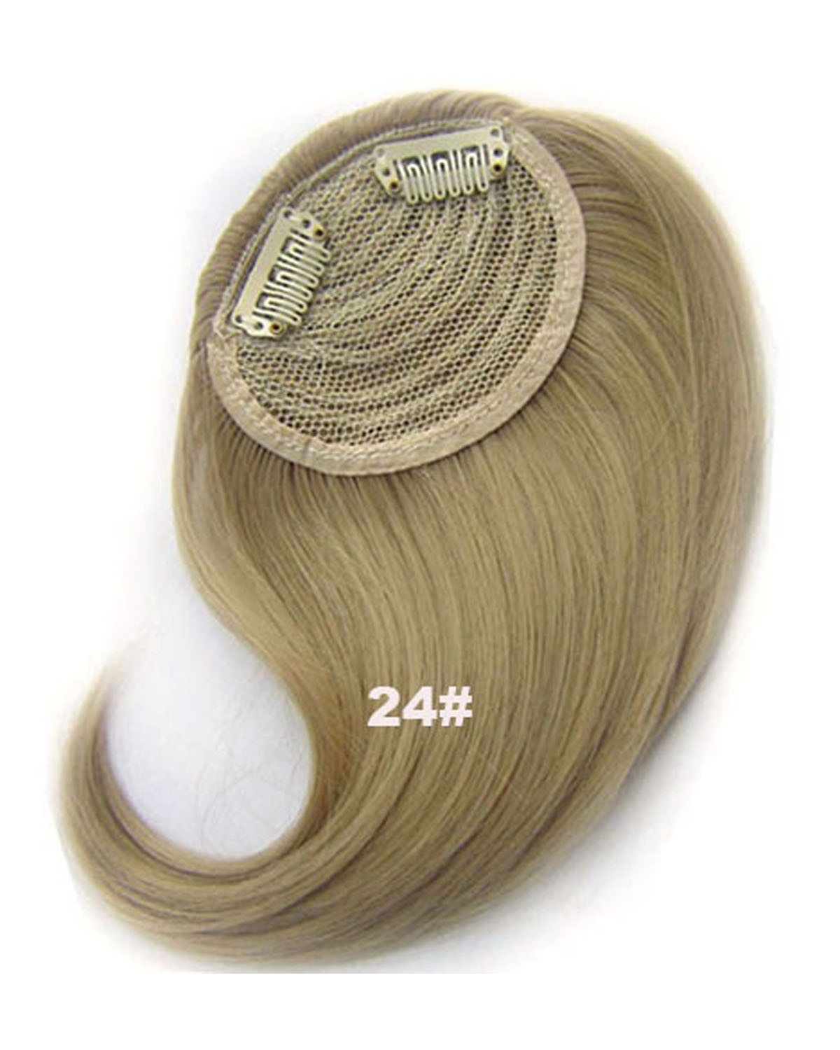 Girls Charismatic Straight Short Bangs Clip in Synthetic Hair Extension Fringe Bangs Hairpiece24#