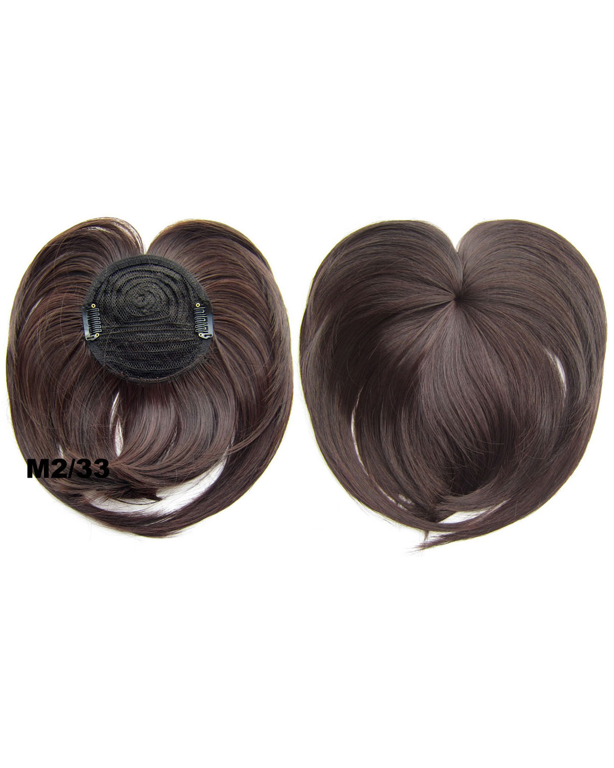 Girls Clean and Neat  Straight Short Bangs Clip in Synthetic Hair Extension Fringe Bangs Hairpiece  M2/33