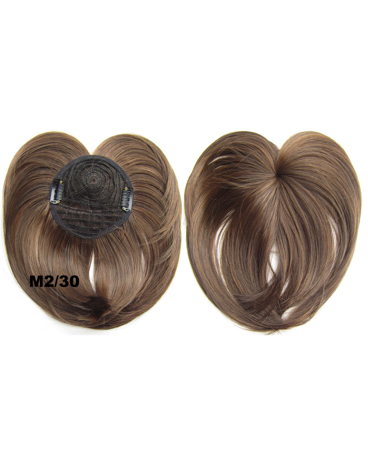 Girls Newly Straight Short Bangs Clip in Synthetic Hair Extension Fringe Bangs HairpieceM2/30