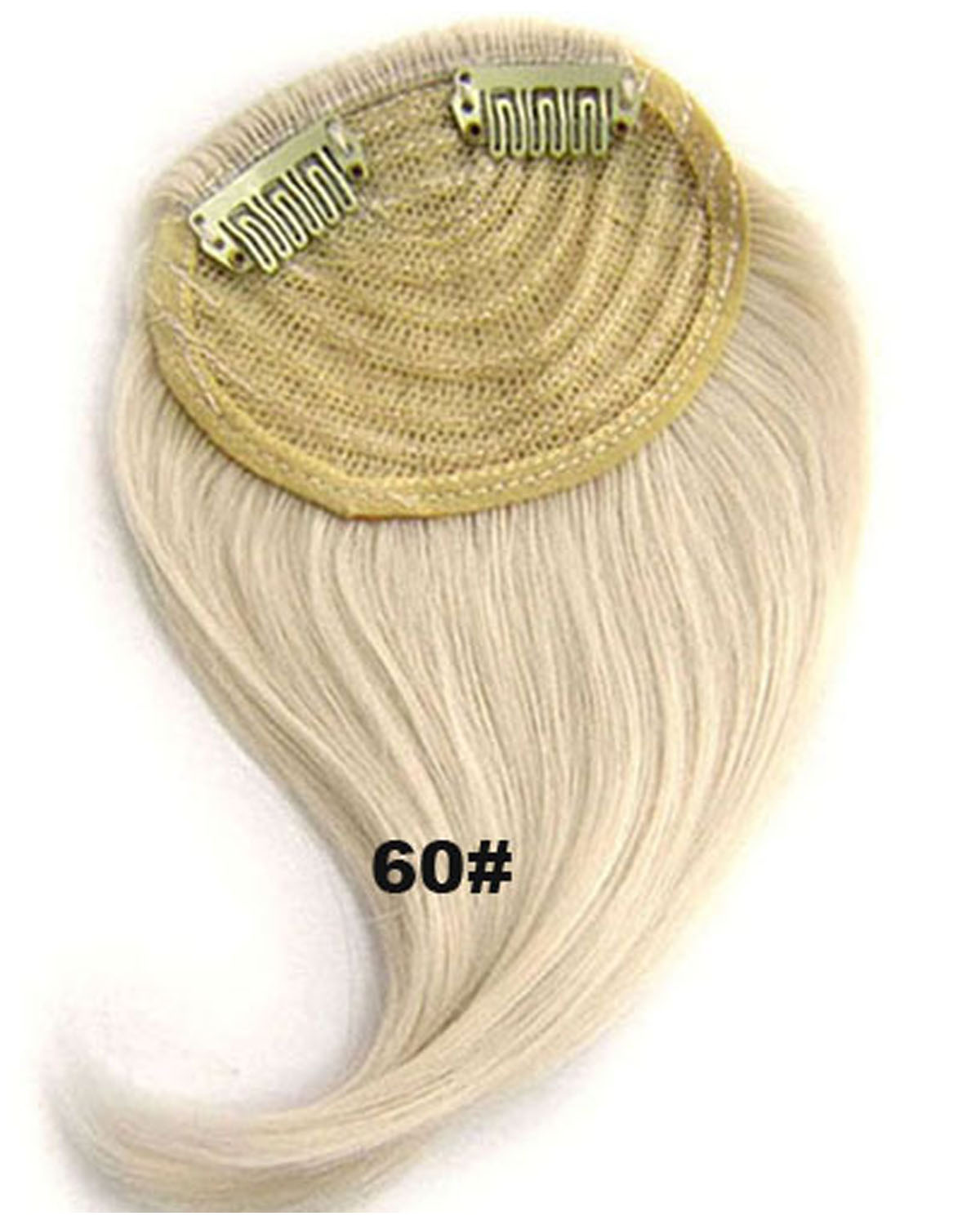 Girls Remarkble Straight Short Bangs Clip in Synthetic Hair Extension Fringe Bangs Hairpiece60#