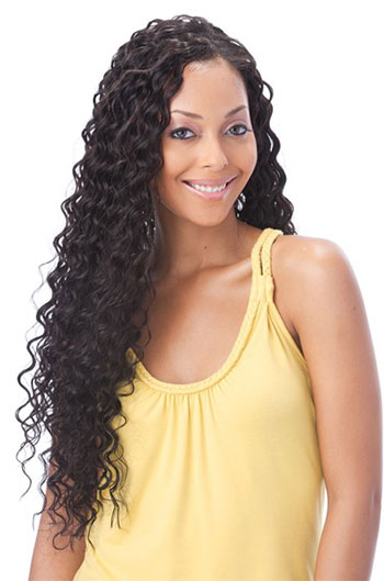 18 Inch Brazilian Virgin Hair Deep Wave Glueless Lace Front Wigs