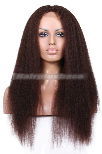 3# color Dark brown  20inches