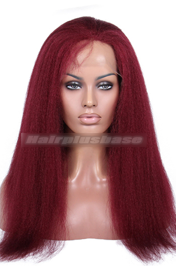 118# color red hair 20inches