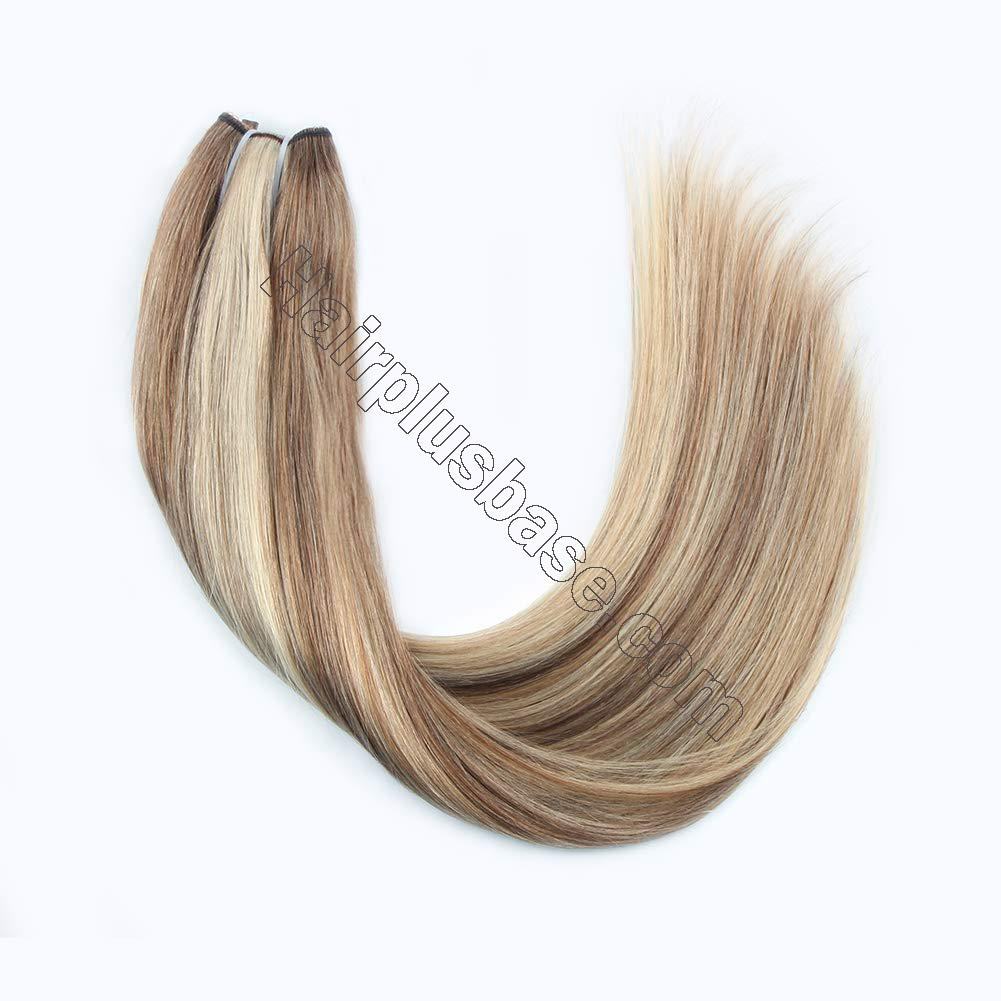 Halo Hair Extensions For Short Hair #8/613 Body Wave/Straight 2