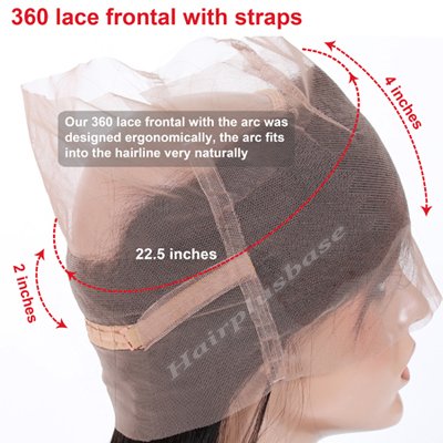 360 lace frontal