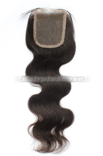 Body Wave Indian Virgin Hair Lace Closure 4*4 Inches