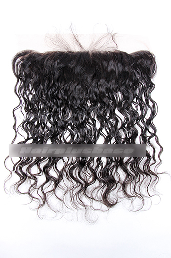 Loose Curl Indian Virgin Hair Lace Frontal
