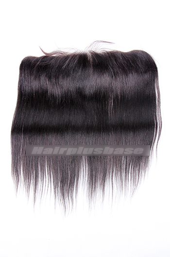 Yaki Straight Indian Virgin Hair Lace Frontal