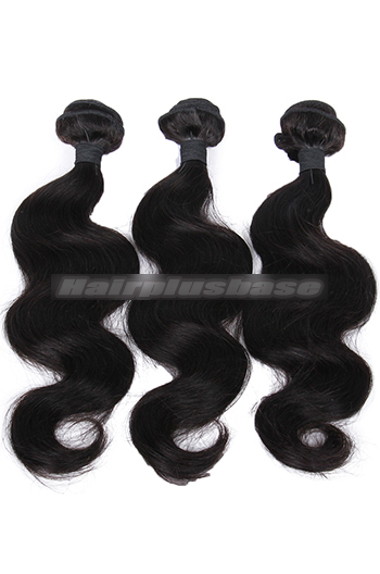 10-26 Inch Body Wave Indian Virgin Hair Weaves 3 Bundles Deal