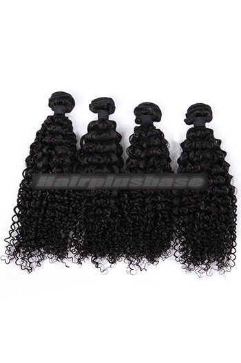 10-26 Inch Water Wave Virgin Indian Hair Wefts 4 Bundles Deal