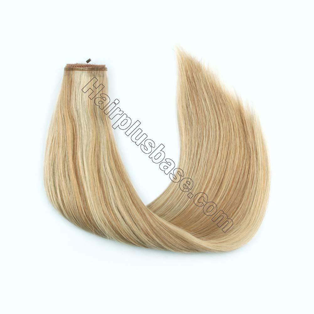 Invisible Halo Human Hair Extensions #12/613 Body Wave/Straight 2