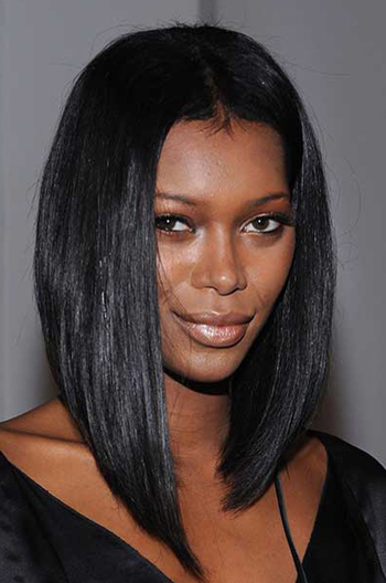 14 Inch Jessica White Long Inverted Bob Style Celebrity Lace Wigs