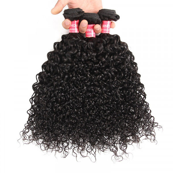 Kinky Curly 3 Bundles Malaysian Curly Hair Virgin Hair Bundles 2