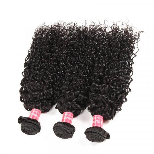 Kinky Curly 3 Bundles Malaysian Curly Hair Virgin Hair Bundles 3
