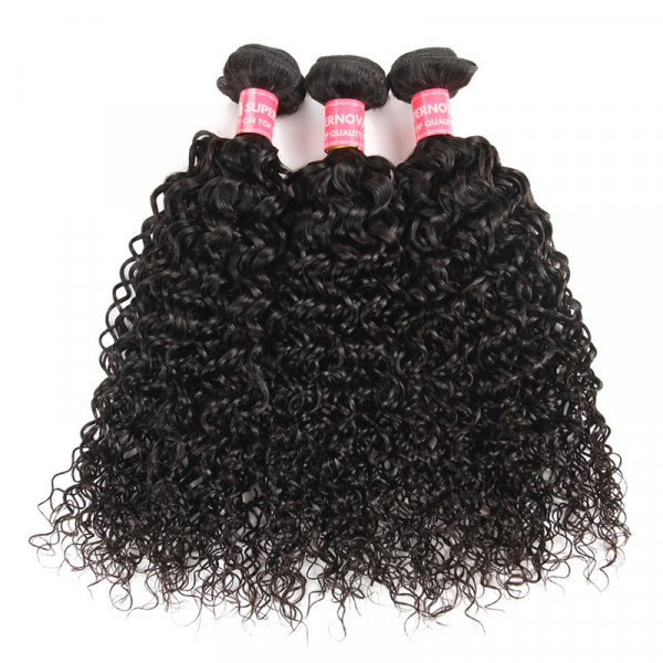 Kinky Curly 3 Bundles Malaysian Curly Hair Virgin Hair Bundles 7
