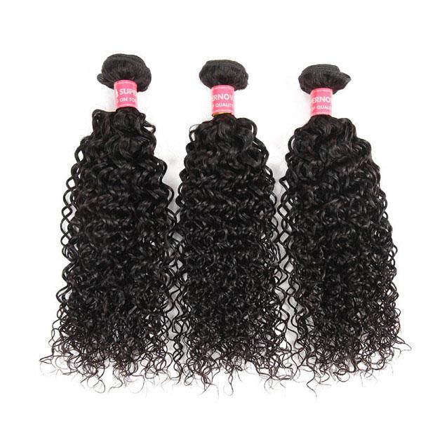 Kinky Curly 3 Bundles Malaysian Curly Hair Virgin Hair Bundles 9