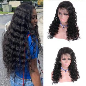 Loose Deep Human Hair 13×6 Lace Front Wigs 8-22 Inch