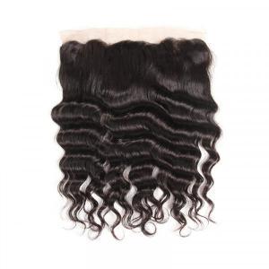Loose Deep Wave 13*4 Lace Frontal Human Hair Cheap Virgin Hair
