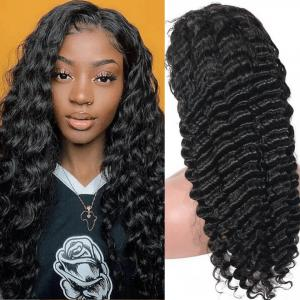 Loose Deep Wave 370 Lace Frontal Wigs For Women 180% Density