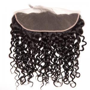 Malaysian Curly Hair 13*4 Hair Frontal Virgin Hair Closures Curly Human Hair