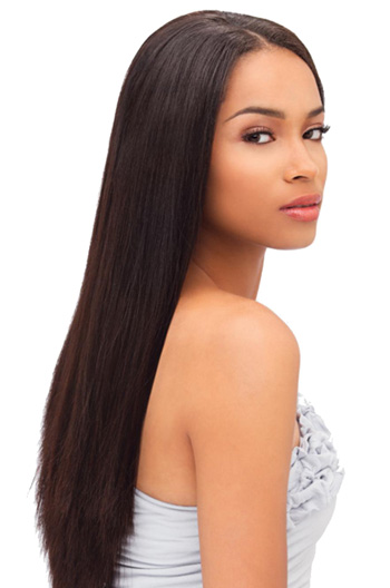 16 Inch Silky Straight Malaysian Virgin Hair Full Lace Wigs