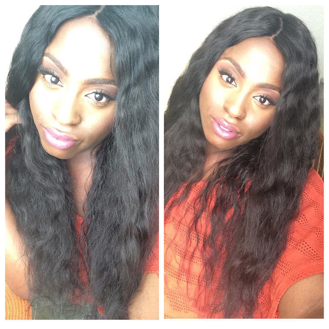 1b 20inches Brazilian virgin hair deep body wave