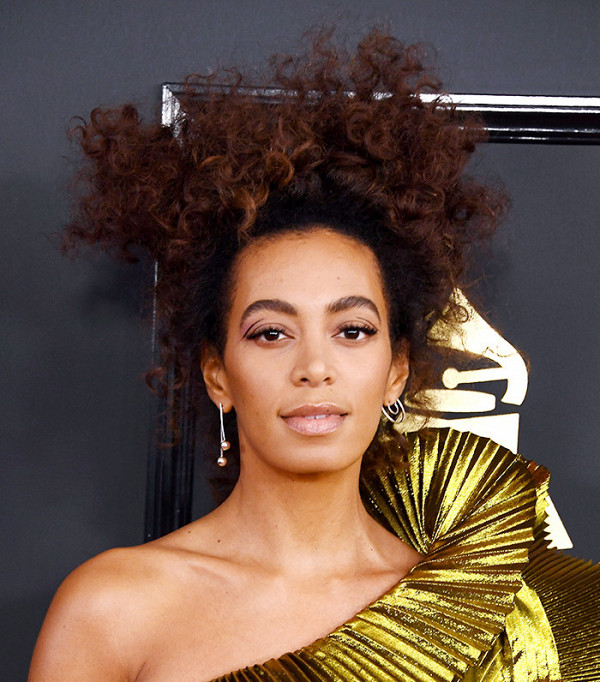 Solange's Coolest High Curls