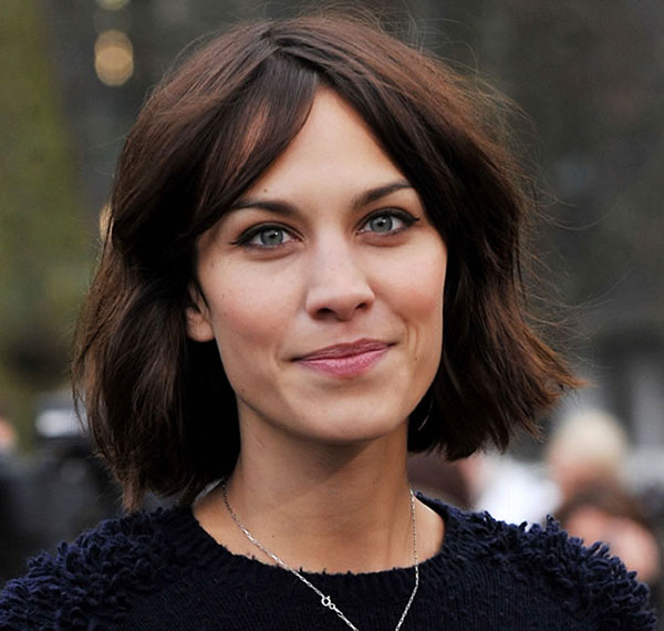 Alexa Chungs layered bob