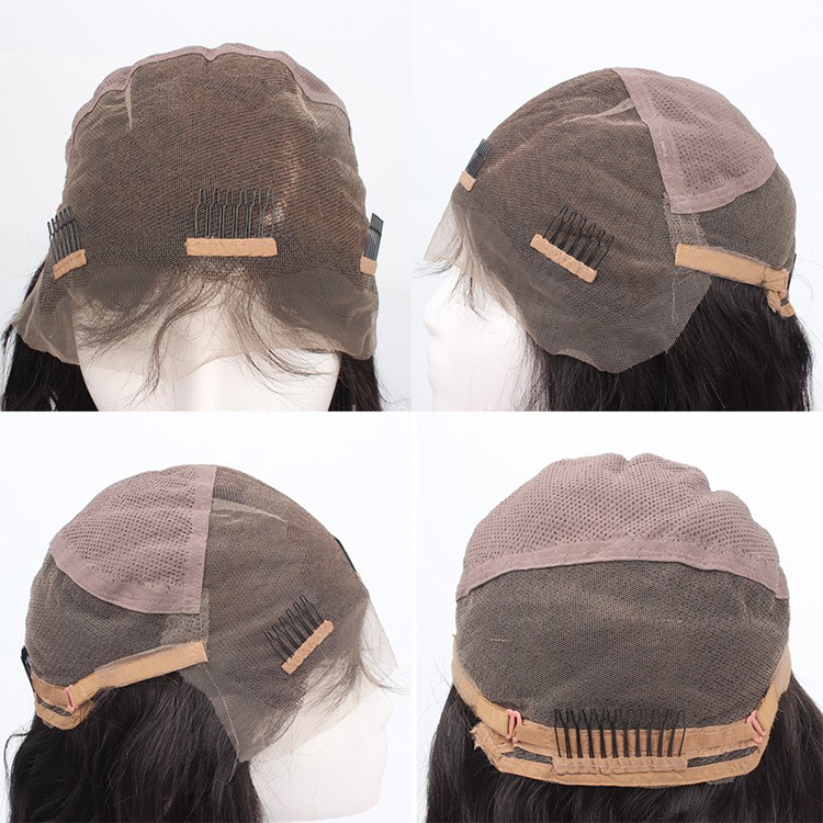 Glueless Silk Top Full Lace Wig Cap