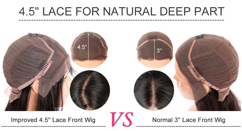 Deep Part Lace Front Wigs