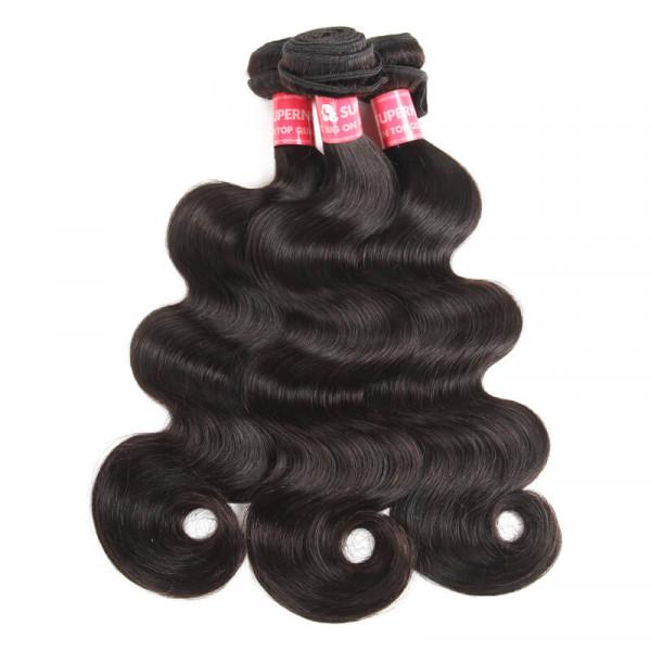 Peruvian Hair Body Wave 3 Bundles Body WaveVirgin Hair Bundle Deals 4