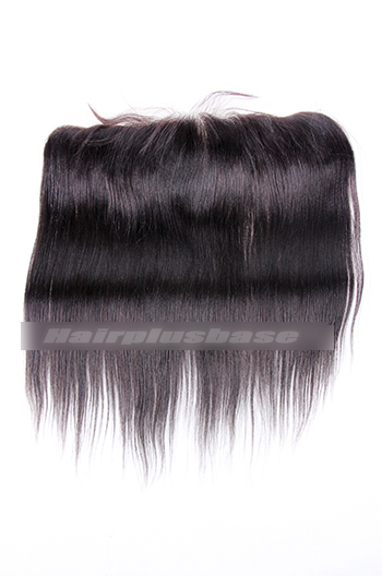 Silky Straight Peruvian Virgin Hair Lace Frontal