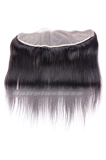 Yaki Straight Peruvian Virgin Hair Lace Frontal