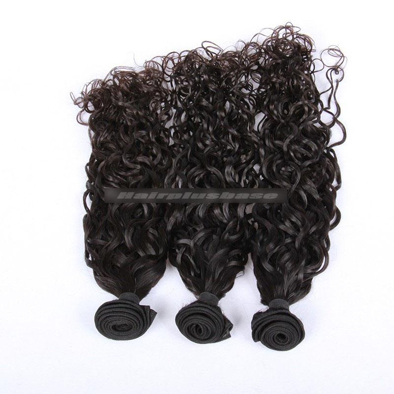 Peruvian Virgin Hair Loose Curl 360°Circular Lace Frontal with 3 Weaves Bundles Deal