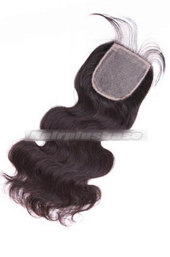 Body Wave Peruvian Virgin Hair Silk Base Closure 4*4 Inches