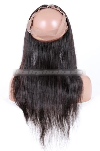 Natural Straight Peruvian Virgin Hair 360°Circular Lace Frontal