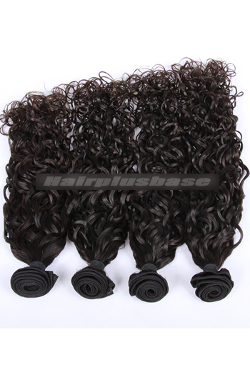 10-30 Inch Natural Color Loose Curl 7A Virgin Hair Wefts 4 Bundles Deal