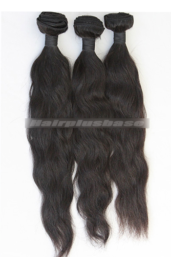 10-30 Inch 7A Virgin Hair Black Natural Straight Hair Extension 3 Bundles Deal