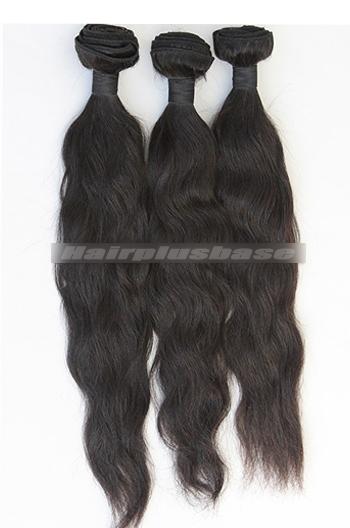 10-30 Inch Peruvian Virgin Hair Black Natural Straight Hair Extension 3 Bundles Deal